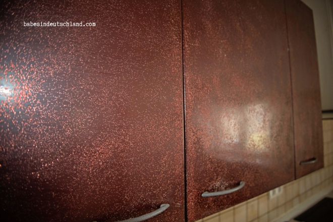 Glitter-fied cabinetry