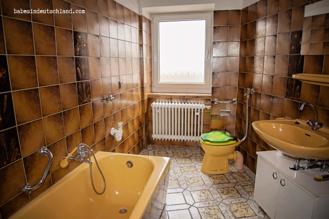 Bathrooms in Germany are the quirkiest part of any house, and most houses have 3ish of them.
