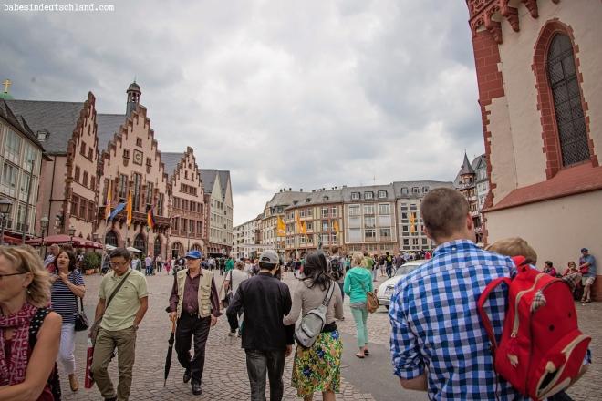 Babes in Deutschland, Traveling with kids in Frankfurt, Germany
