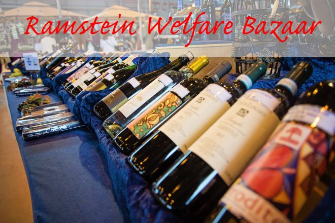 Babes in Deutschland, Ramstein Welfare Bazaar