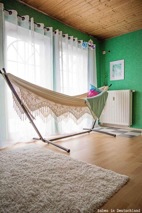 An elegant, bohemian bedroom in Germany