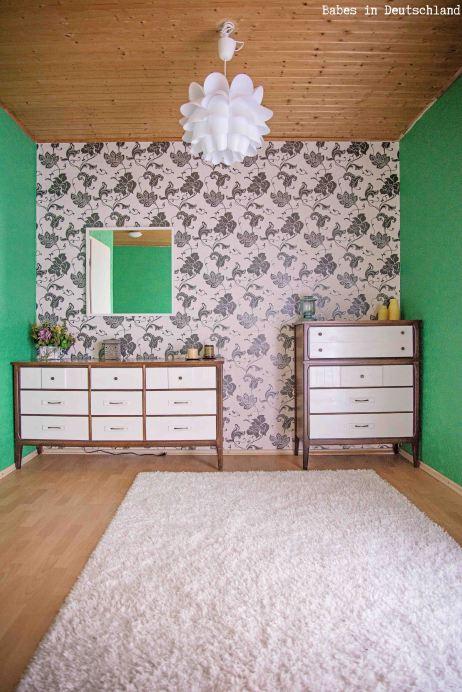 Dress up old dressers by painting just the drawers!